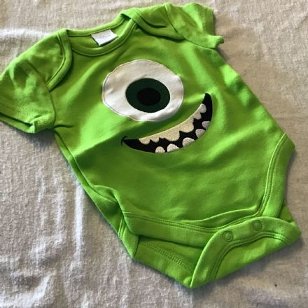 0-3 Month Monster Inc Body